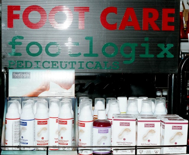 Footlogix products available at Edmonton Shoe Repair