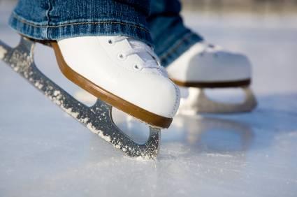 Ice skate blade Sharpening