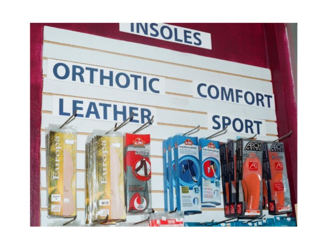 Edmonton Shoe Repair Northgate Mall insole
