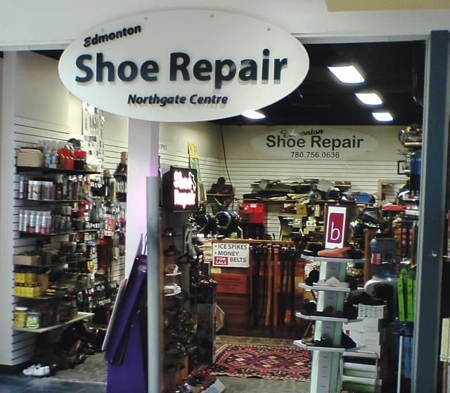 Edmonton Shoe Repair Storefront